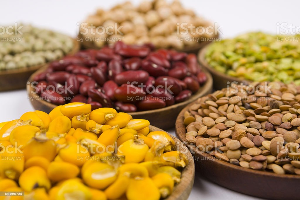 variety of grains royalty-free stock photo