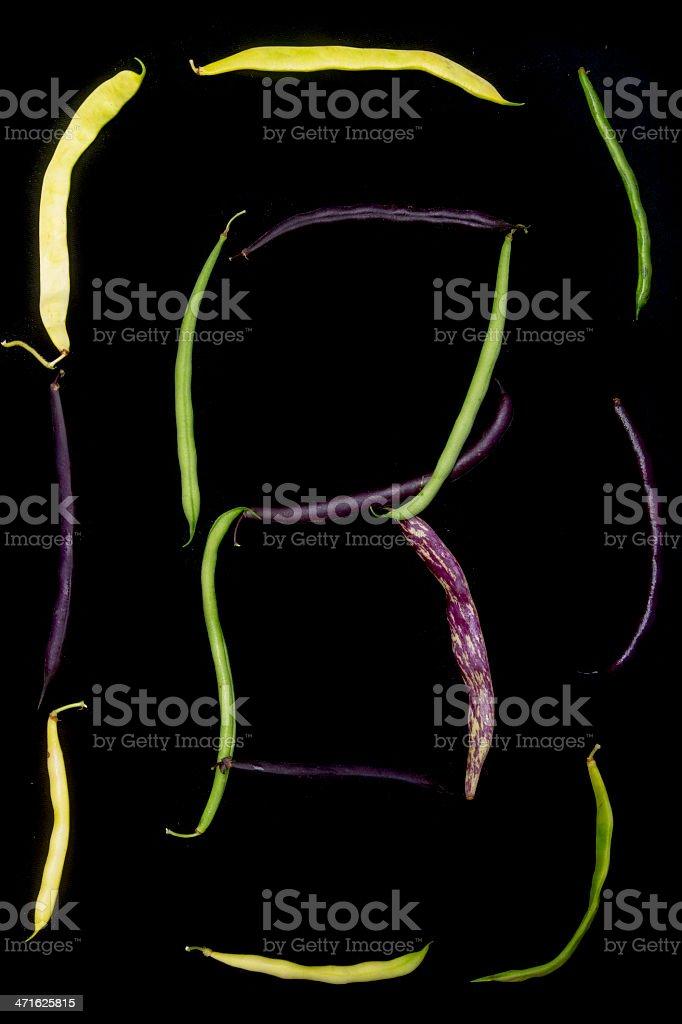 variety of peas on black royalty-free stock photo