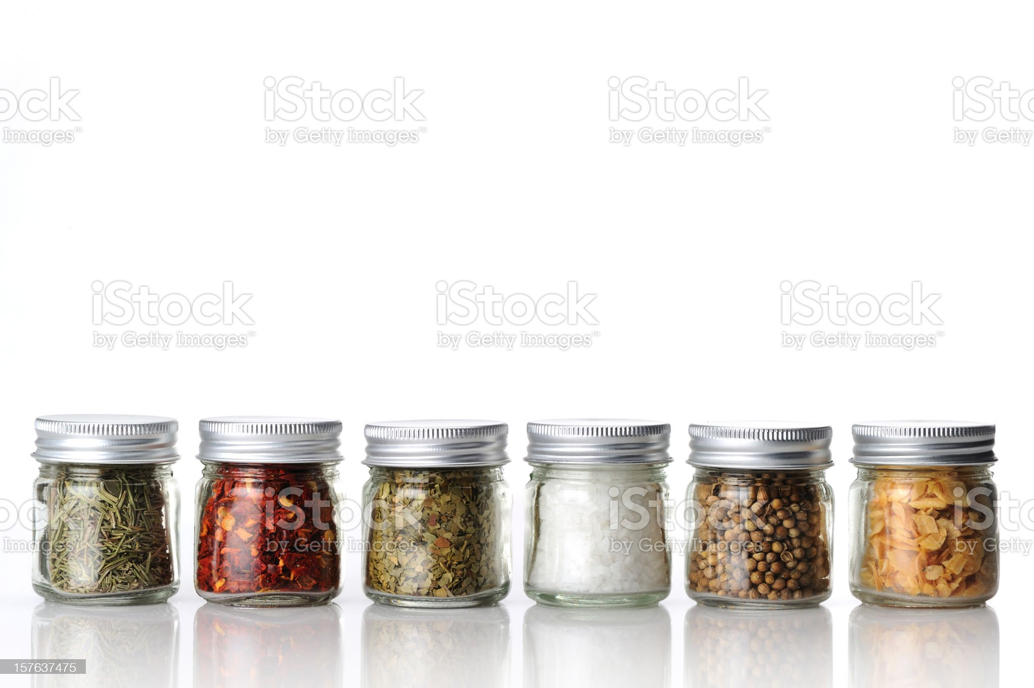 variety of spices royalty-free stock photo