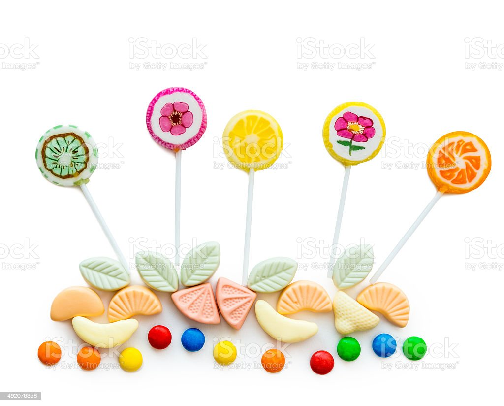 variety of sweets stock photo