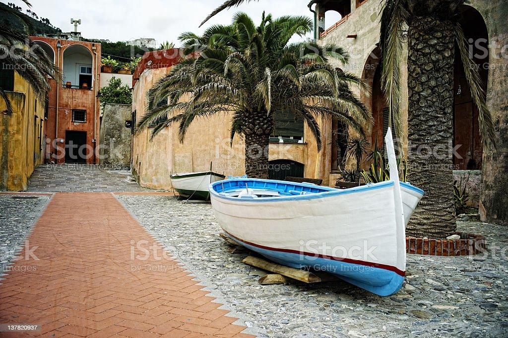 Varigotti. Color Image stock photo