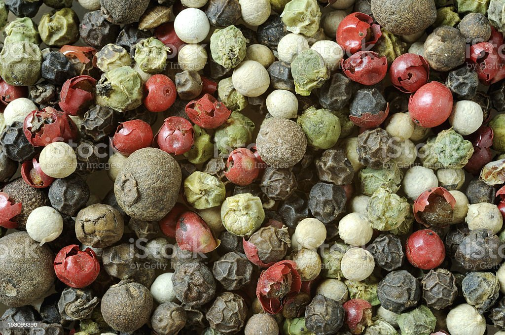 Varios pepper stock photo