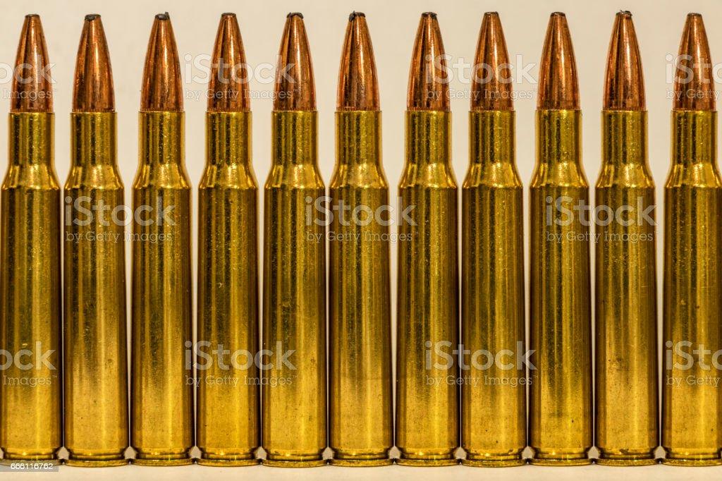 Various Ammunition stock photo