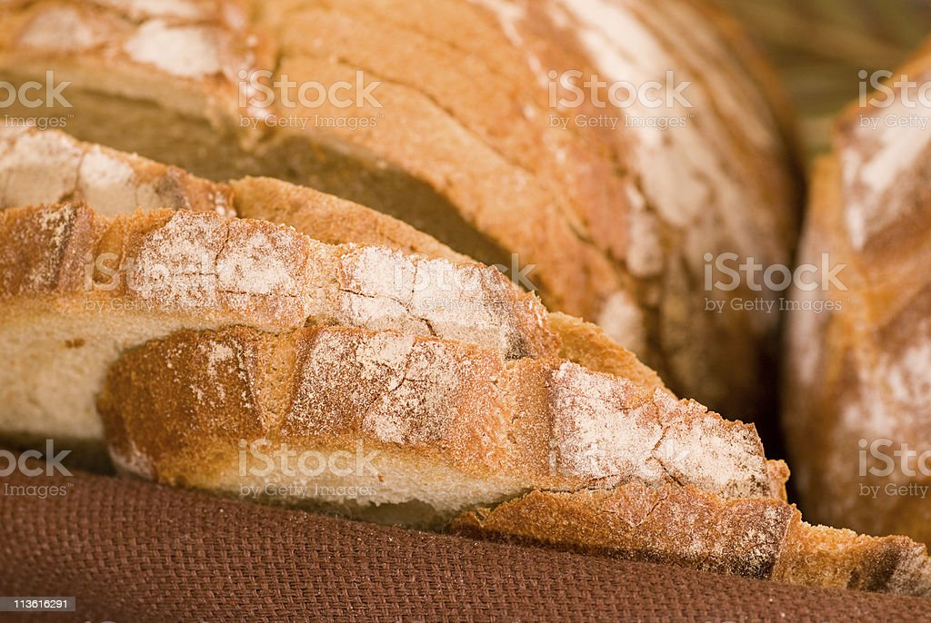 Various baked bread royalty-free stock photo