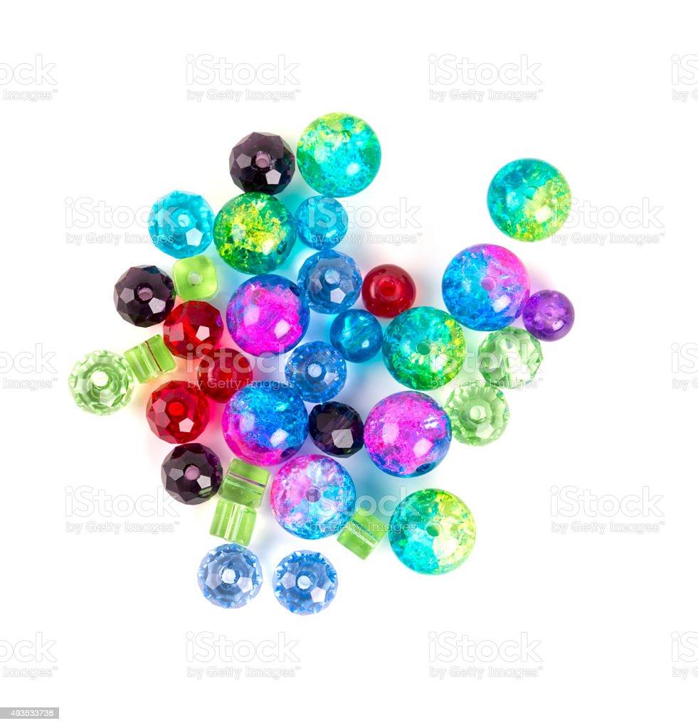 various beads stock photo
