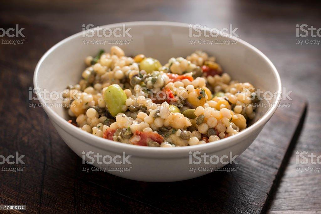 Various Beans salad royalty-free stock photo