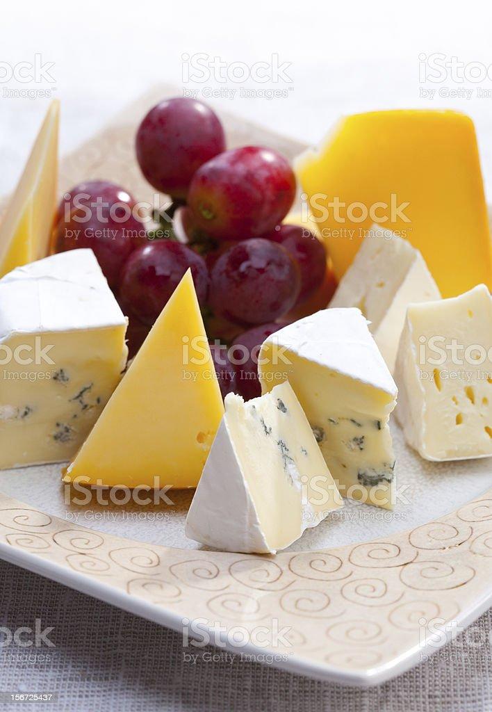 Various Cheeses royalty-free stock photo