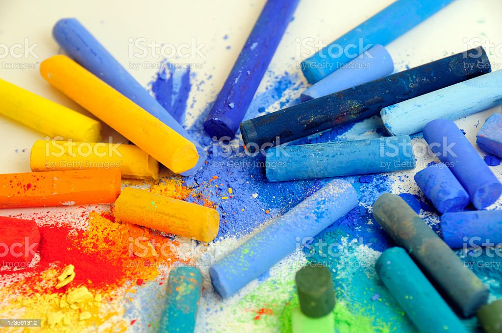 Various colors royalty-free stock photo