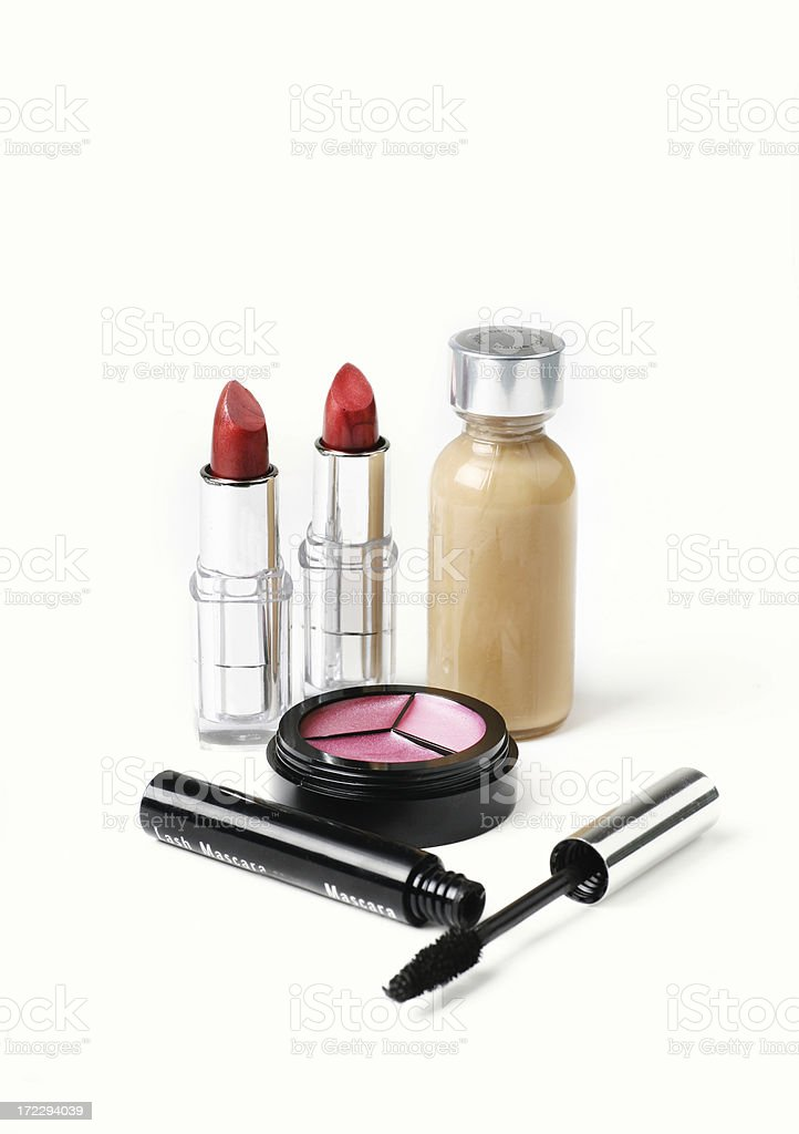 Various Cosmetics royalty-free stock photo