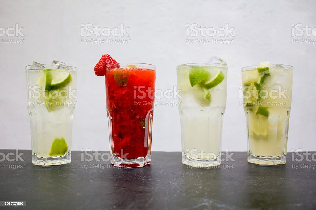 Various Drinks stock photo