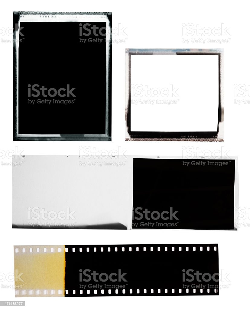 Various Films stock photo