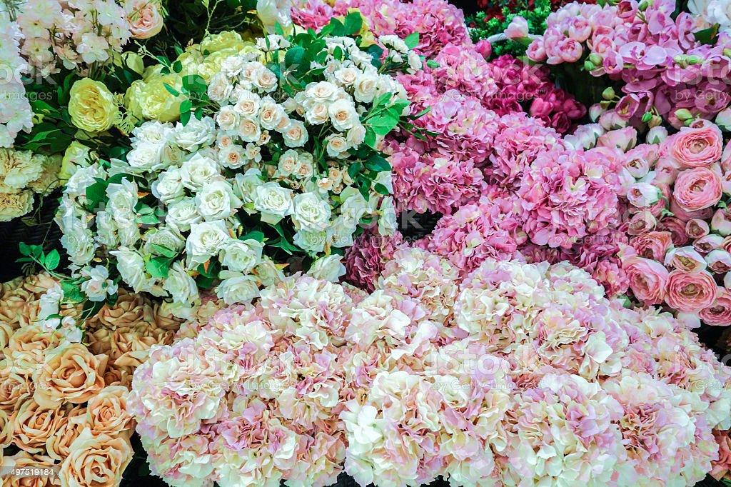Various Flowers stock photo