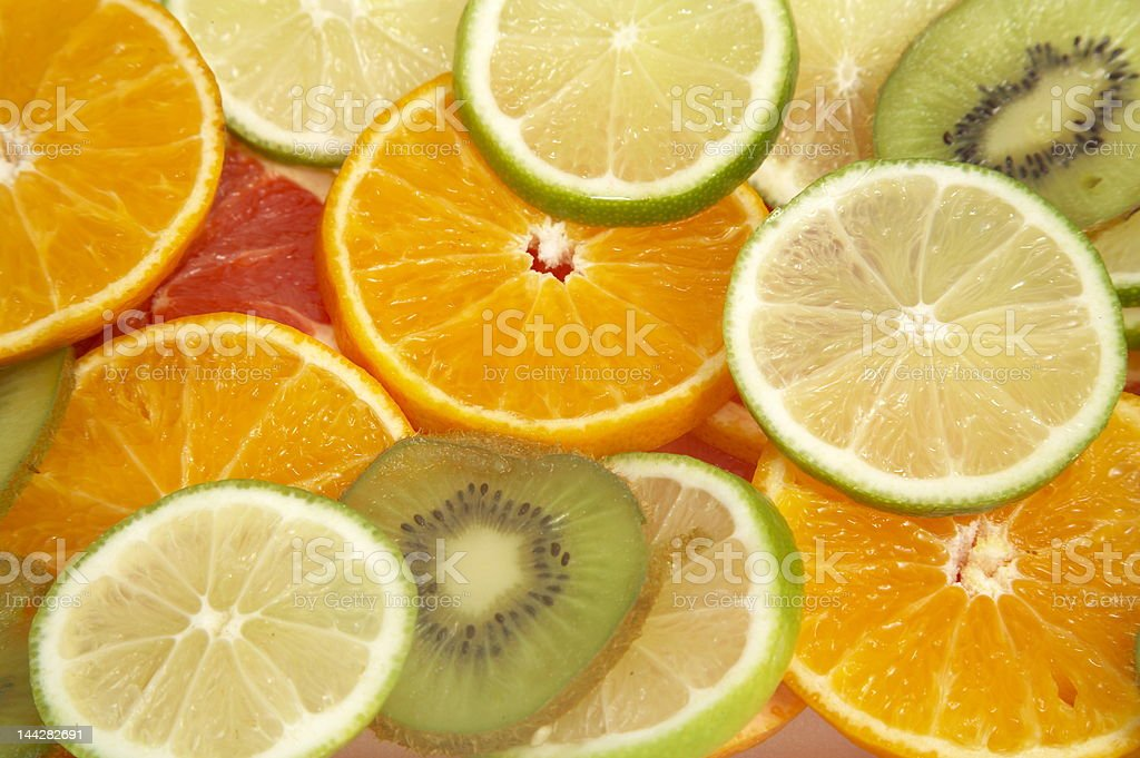 Various fruits royalty-free stock photo