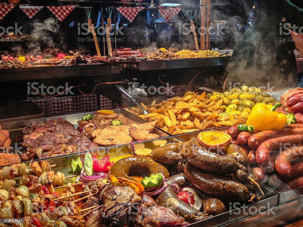 Various Meats stock photo