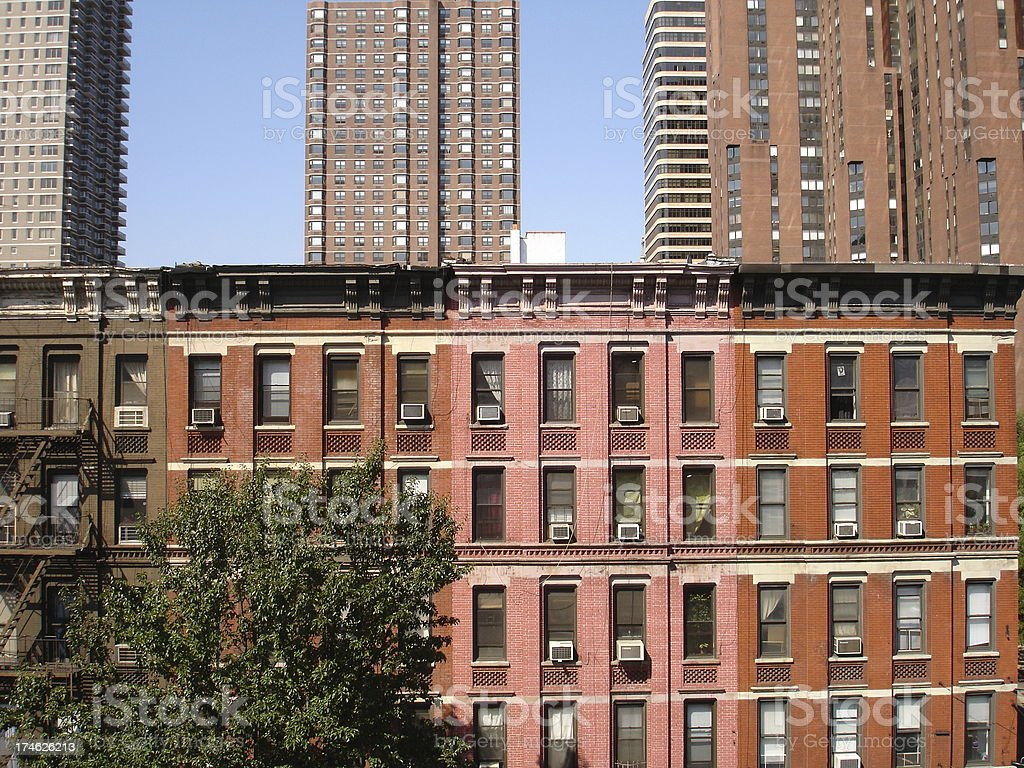 Various NYC Apartments stock photo