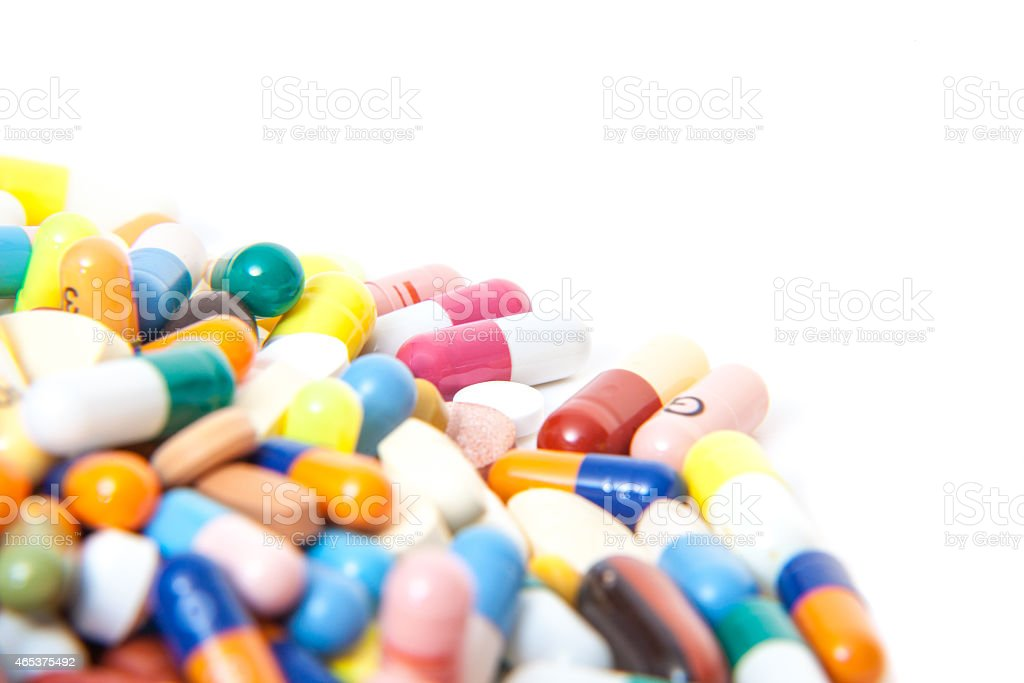 Various pharmaceuticals stock photo