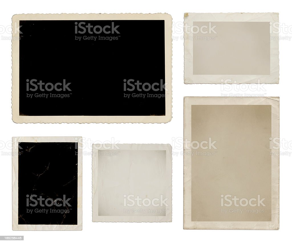 Various photo collection in black, tan, and white stock photo