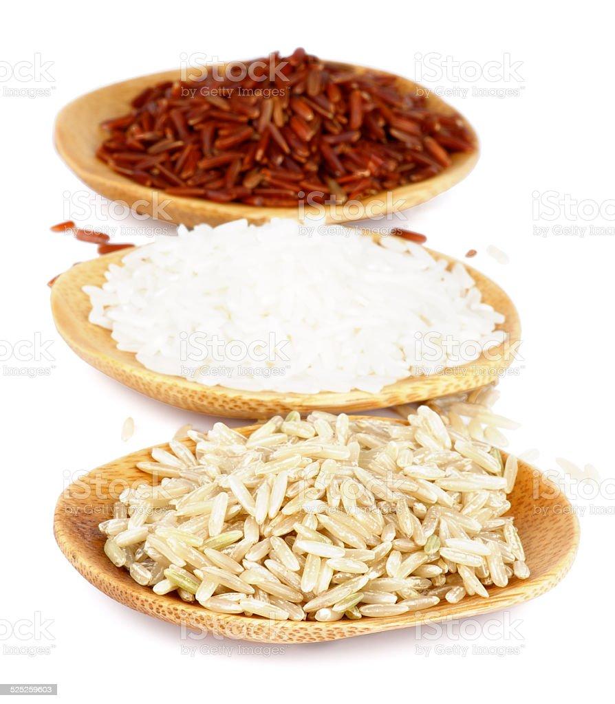 Various Rice stock photo