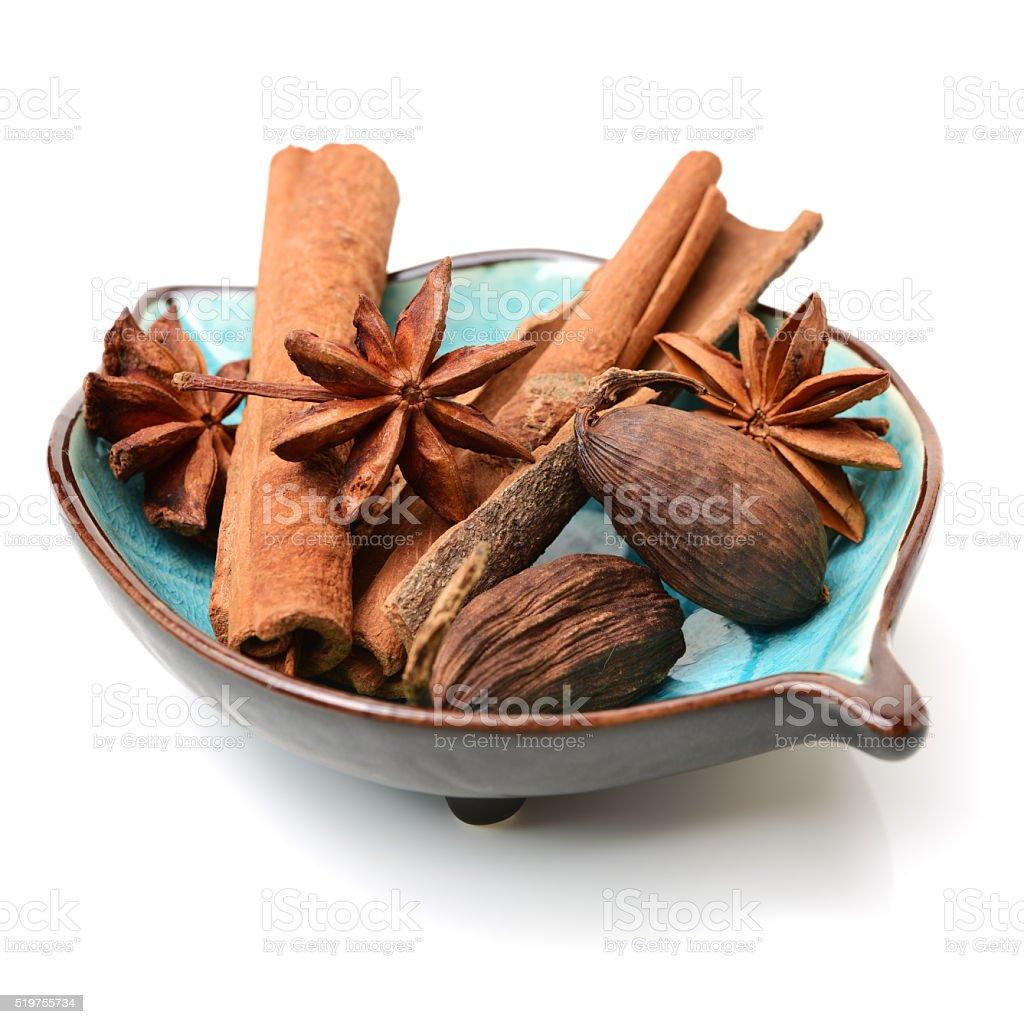 Various seasonings stock photo