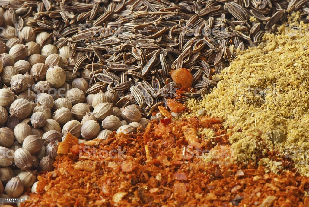 various spices royalty-free stock photo