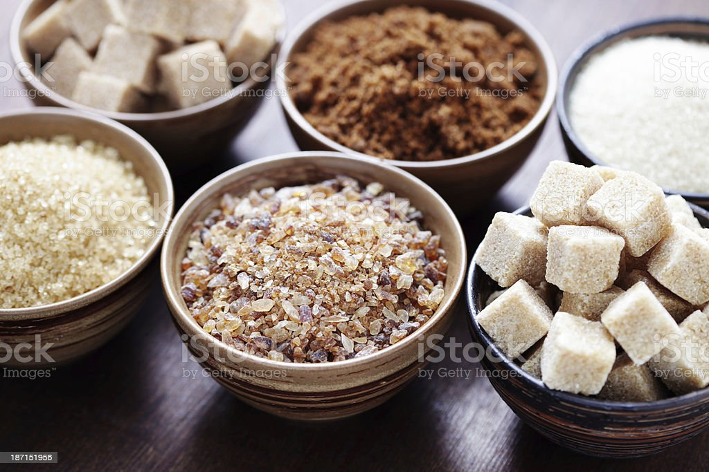 various sugar royalty-free stock photo