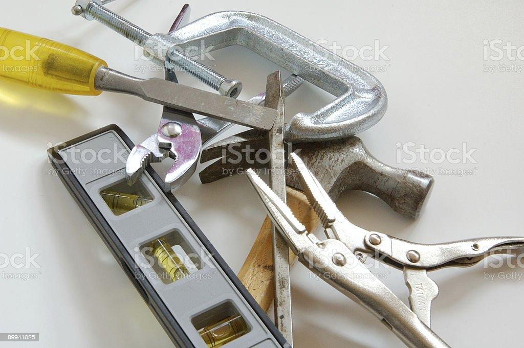 various tools royalty-free stock photo