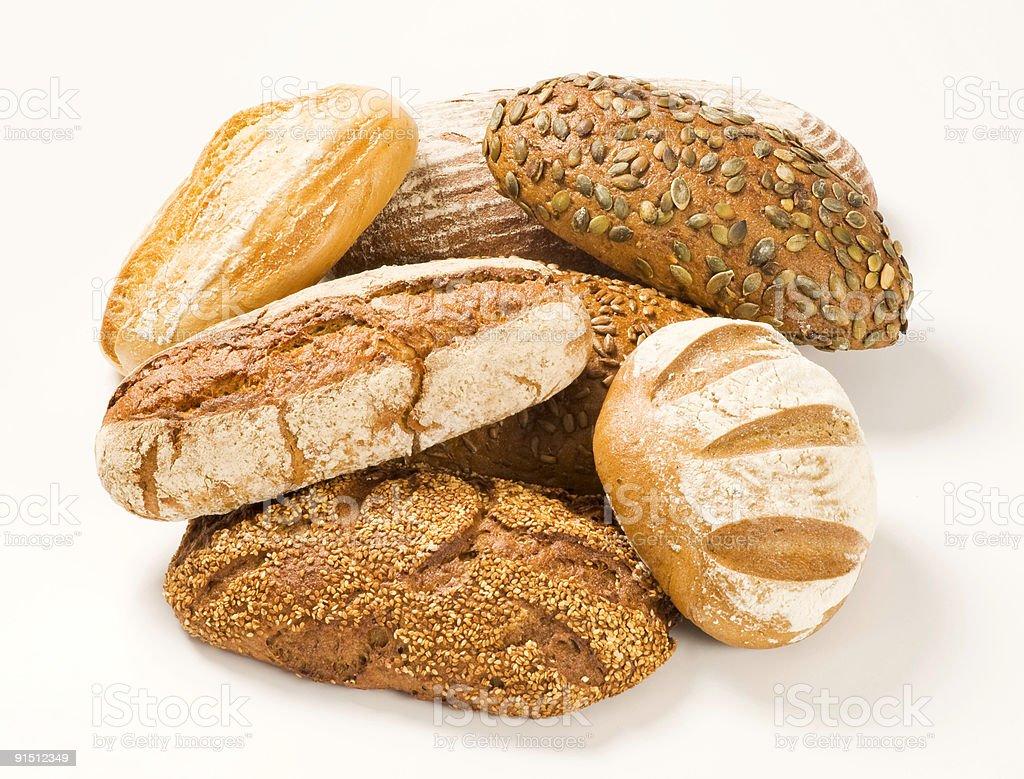 Различные виды хлеба Стоковые фото Стоковая фотография