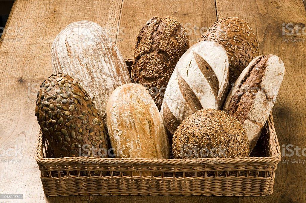 Различные типы Загорают Хлеб Стоковые фото Стоковая фотография