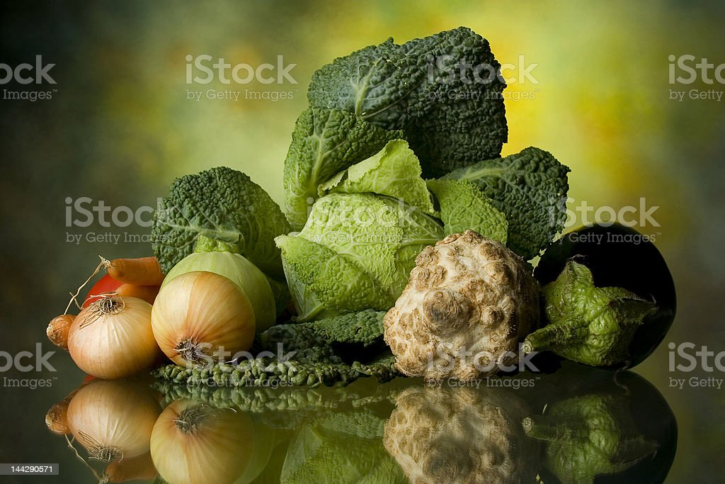 various vegetable royalty-free stock photo