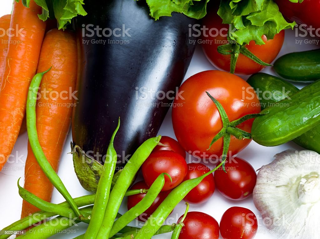 various vegetables together stock photo