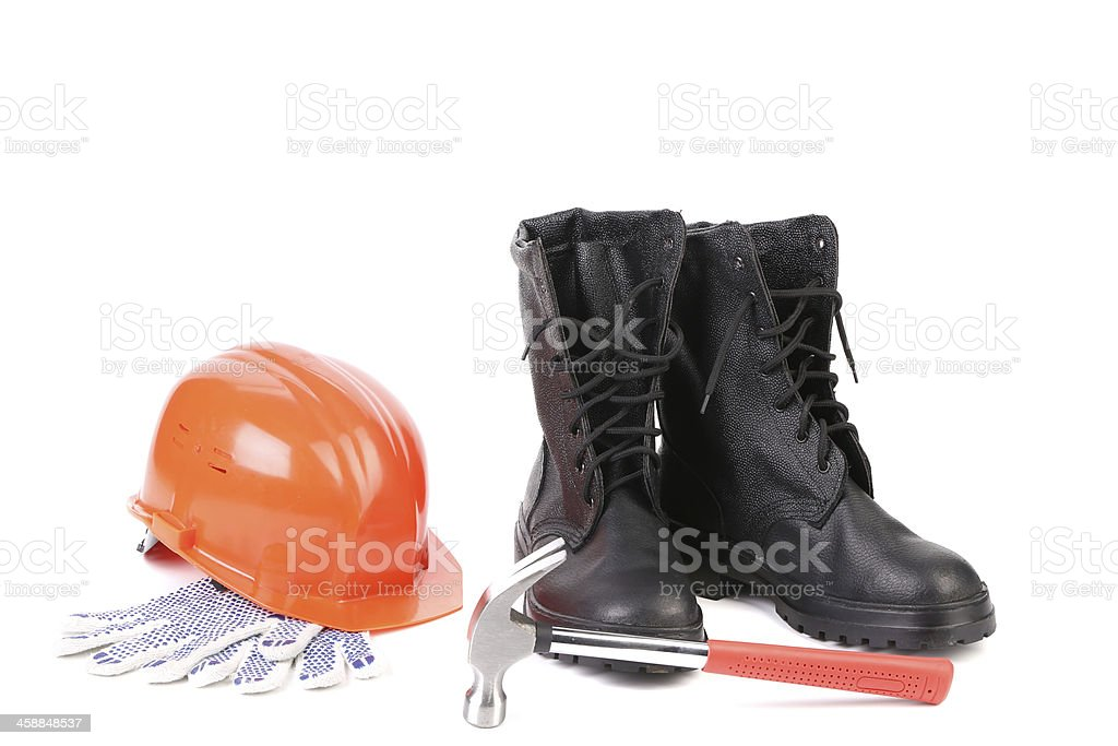 Various working equipment. royalty-free stock photo