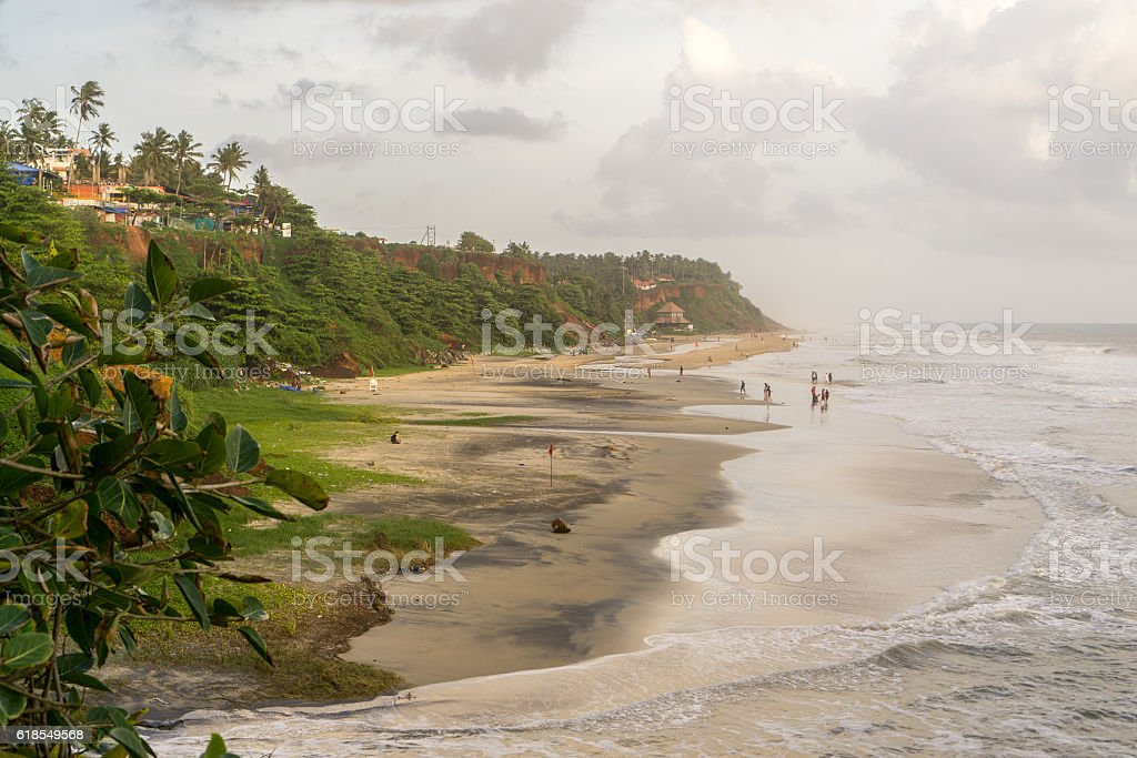 Varkala (Kerala), India stock photo