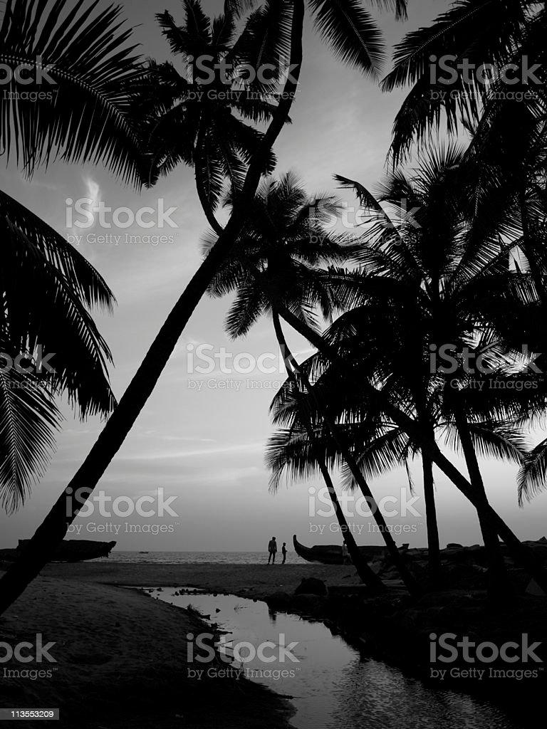 Varkala,Kerala,India. stock photo