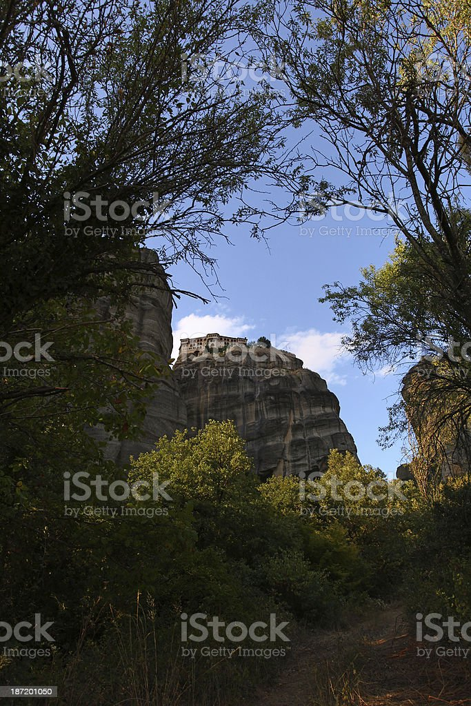Varlaam Monastery royalty-free stock photo