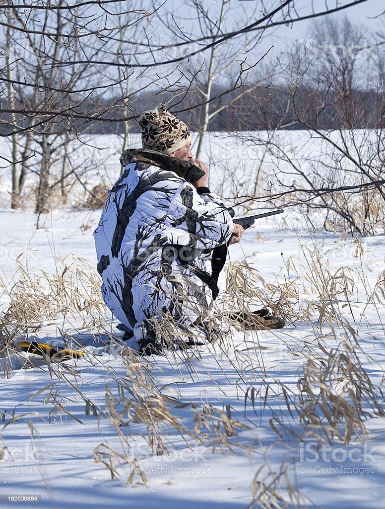 Varmint Hunter stock photo