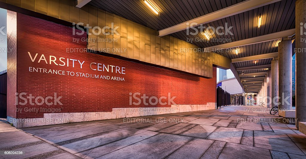 Varsity Stadium stock photo