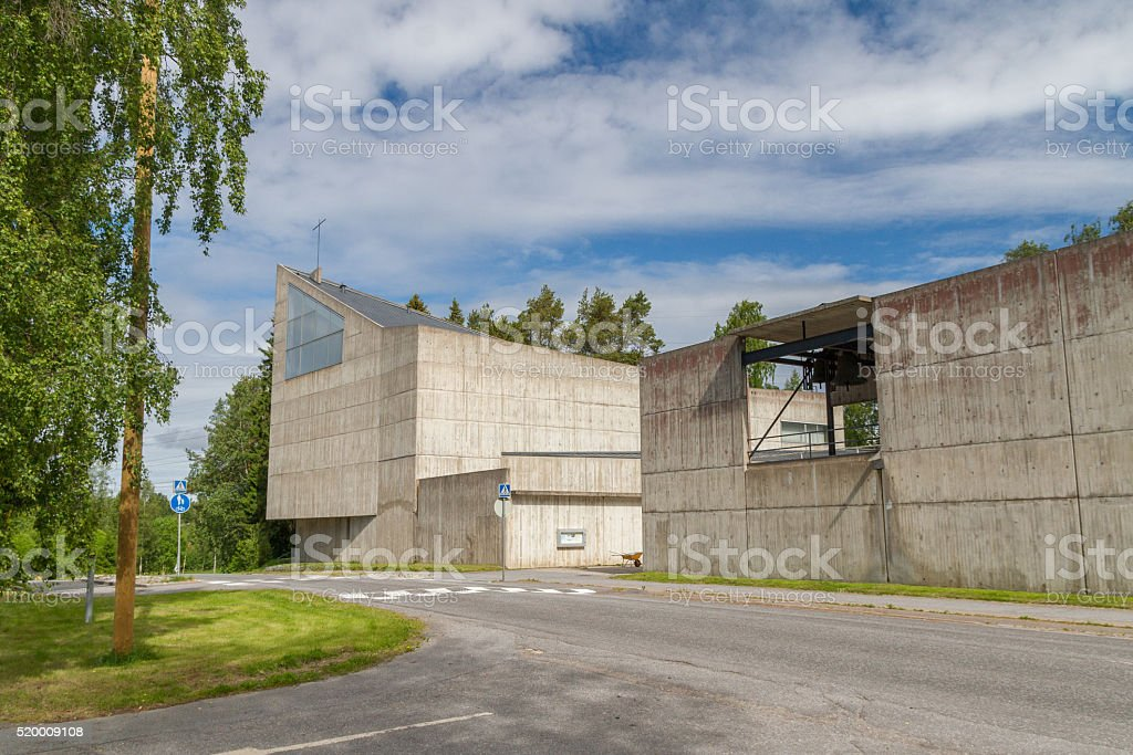 Vasa,Finland - modern church stock photo