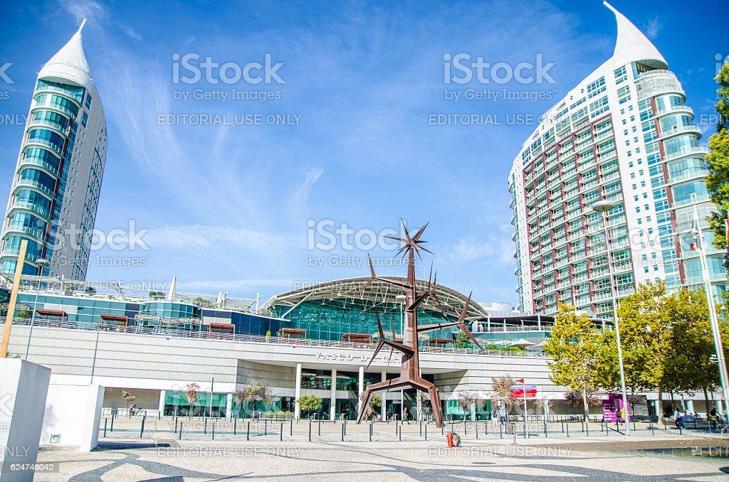 Vasco da Gama Shopping Mall at Park of nations stock photo