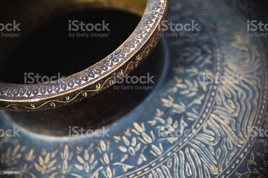 Vase details stock photo