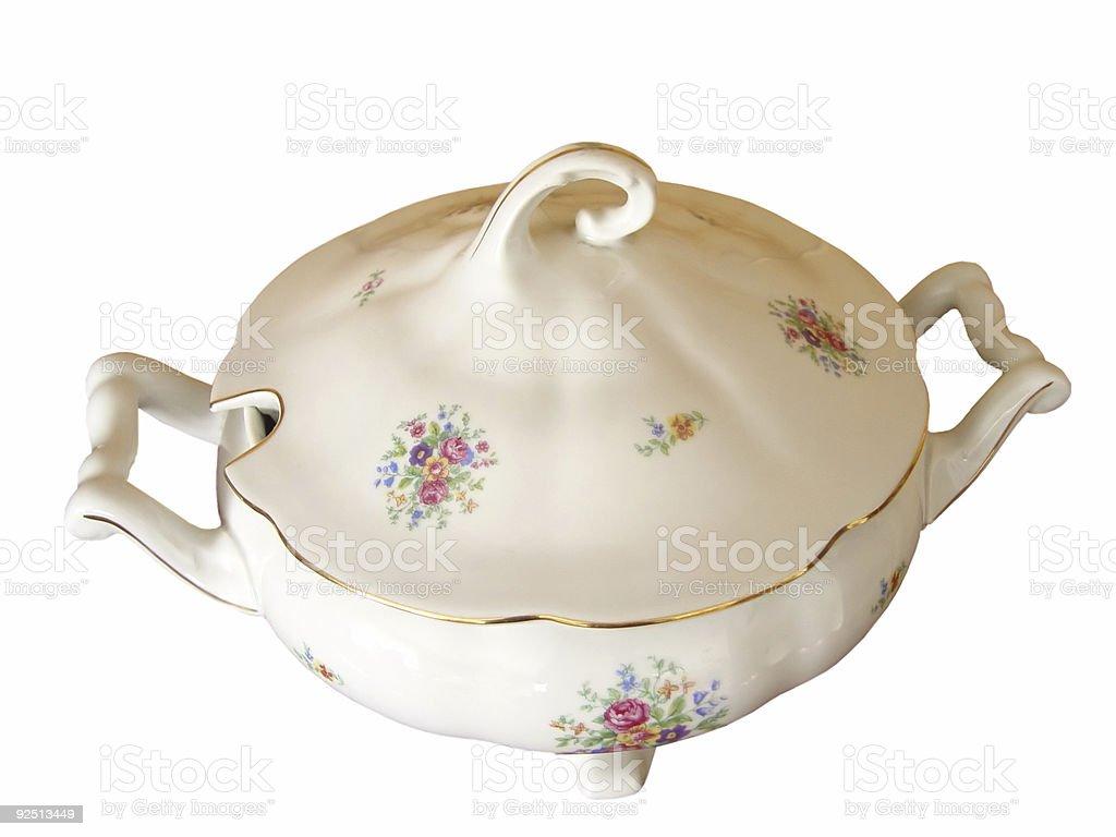 vase isolated royalty-free stock photo