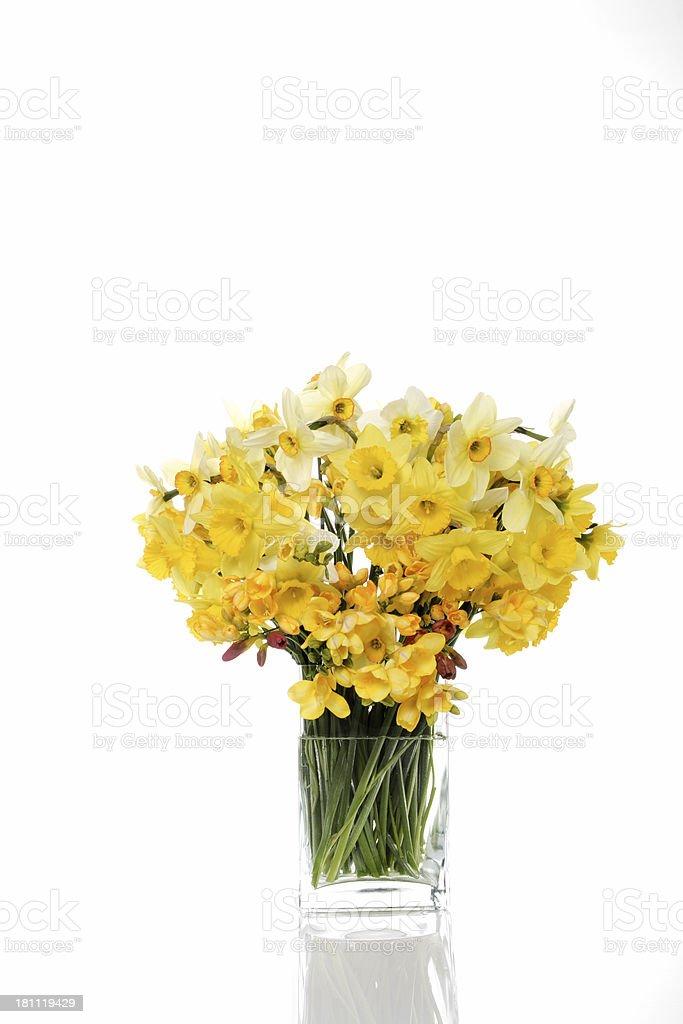 Vaso con fiori foto stock royalty-free