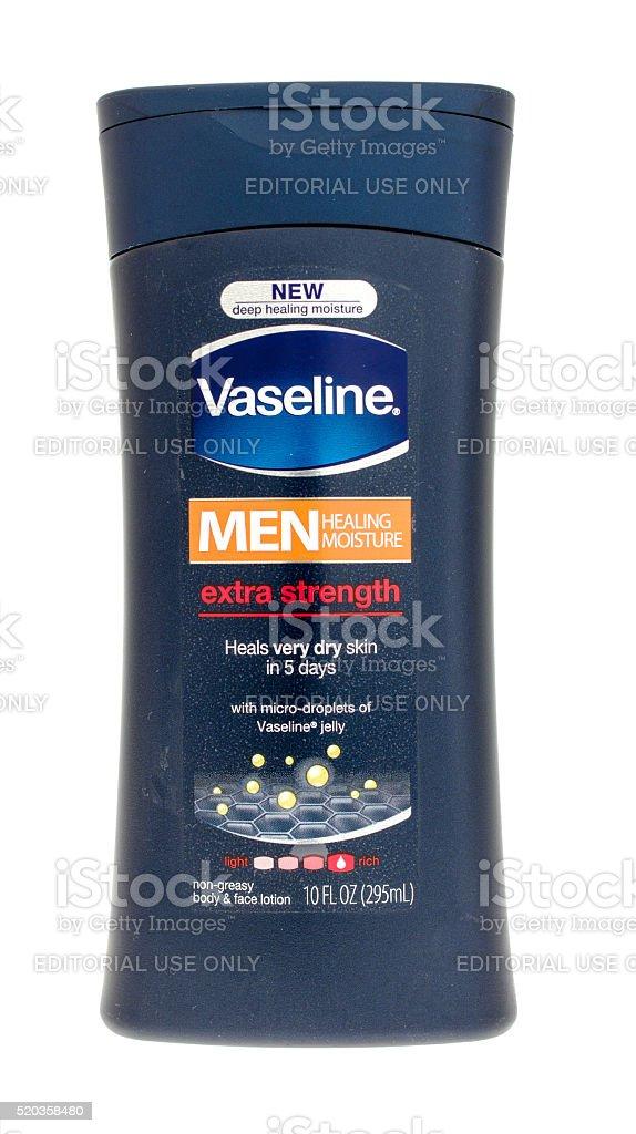 Vaseline Body Lotion stock photo