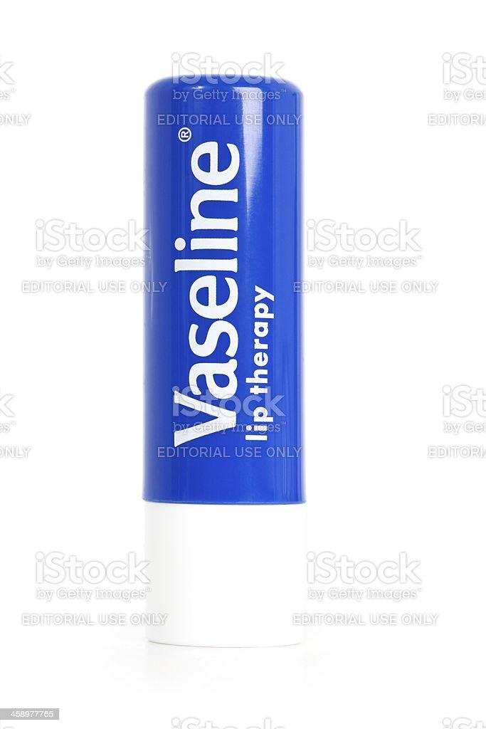Vaseline Lip Balm stock photo
