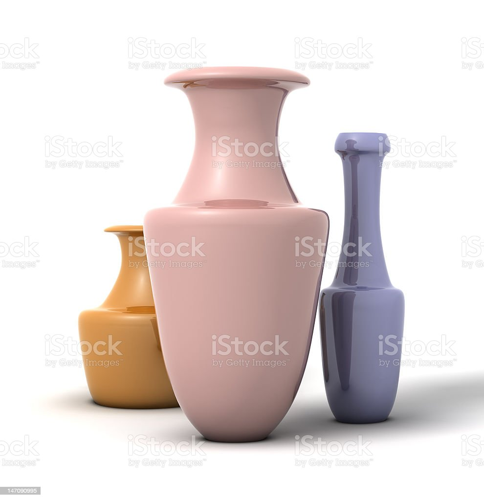 Vases royalty-free stock photo