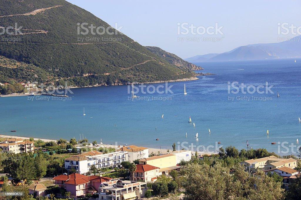 Vasiliki Bay - Lefkada Island (Greece) royalty-free stock photo