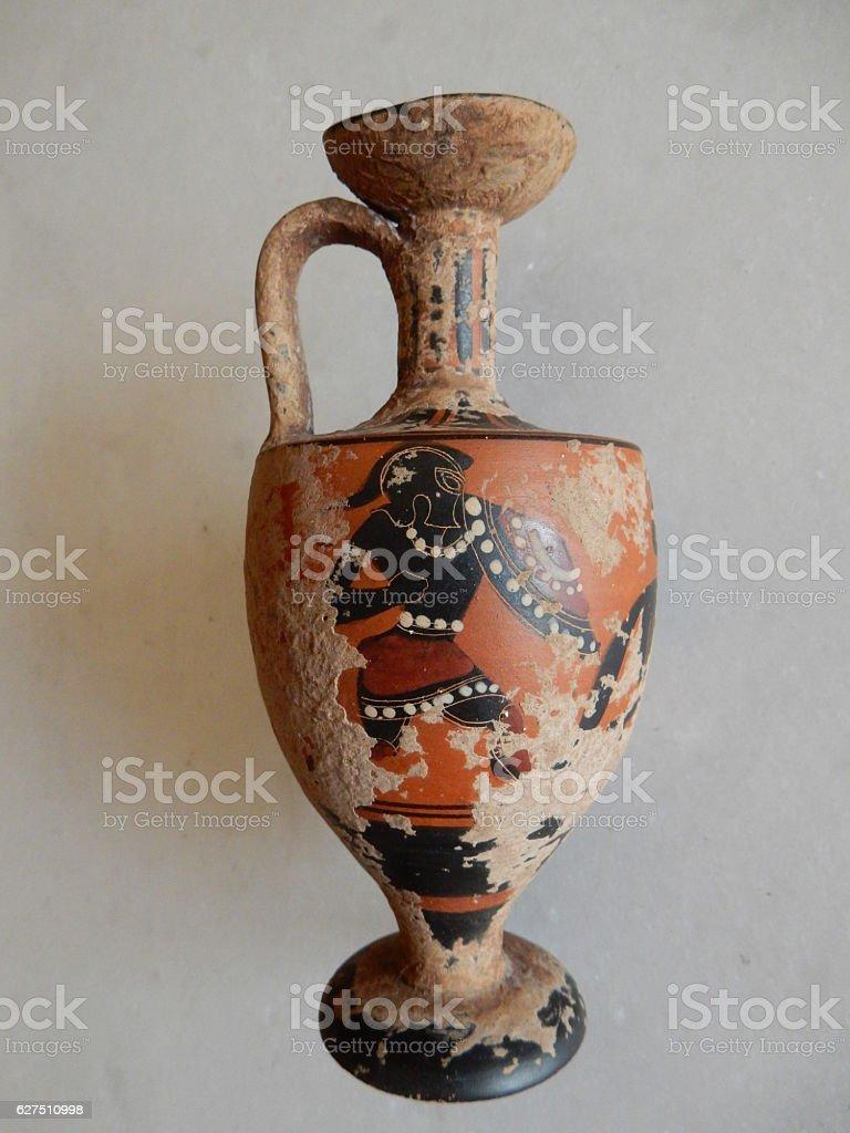 Vaso antico dipinto stock photo