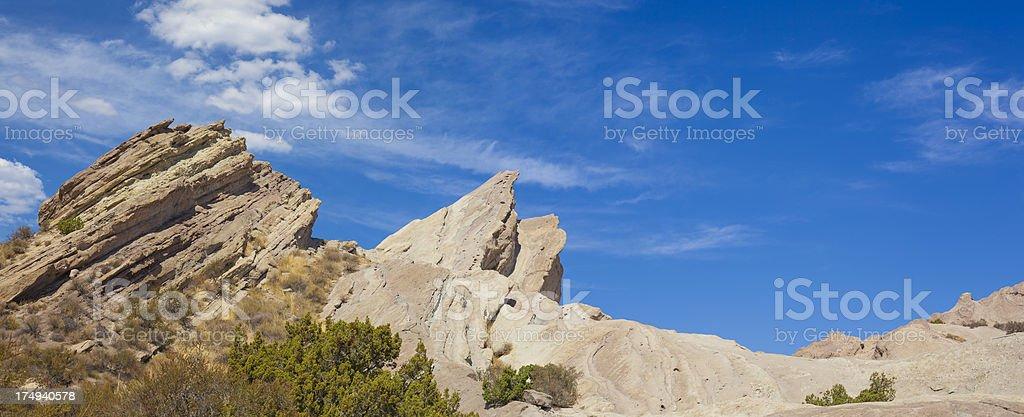 Vasquez Rocks CA stock photo