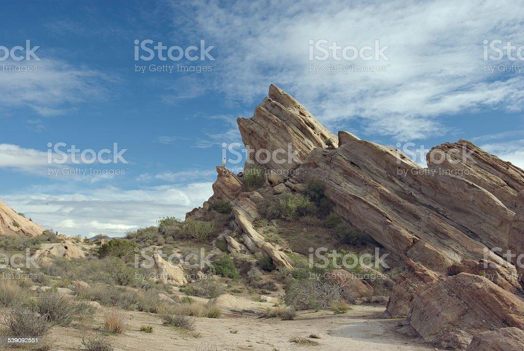 Vasquez Rocks Natural Area Park in California stock photo