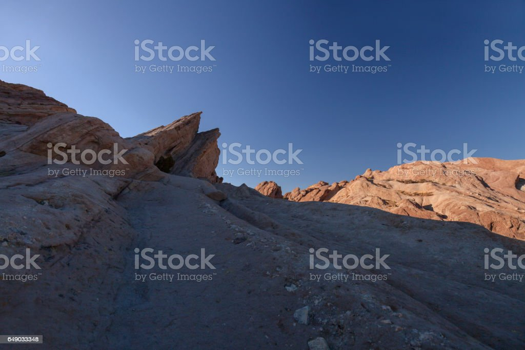 Vasquez Rocks Sunset stock photo