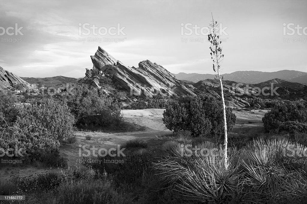Vasquez Rocks, Western and Star Trek Setting stock photo